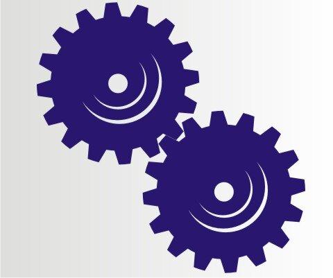 Aufkleber Getriebe Folien-Aufkleber für Auto, Schaufenster, Schilder