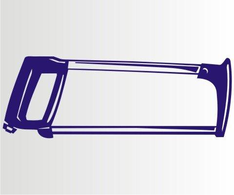 Aufkleber Bügelsäge Folien-Aufkleber für Auto, Schaufenster, Schilder