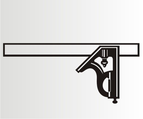 rechter winkel messer folien aufkleber f r auto schaufenster s. Black Bedroom Furniture Sets. Home Design Ideas