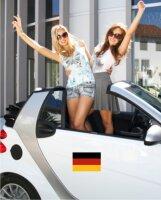 Magnetschild Deutschlandfahne