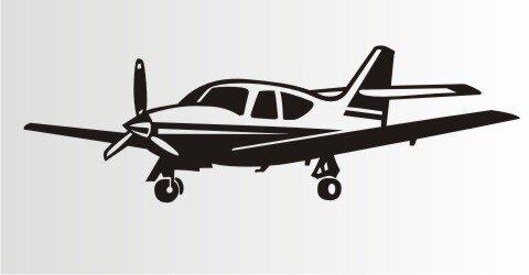Flugzeug Aufkleber