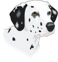 Dalmatiner Wandtattoo im Digitaldruck