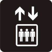 Aufkleber Piktogramm Lift, Fahrstuhl