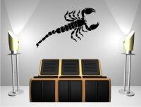Skorpion Wandtattoo Tapeten Deko M-07