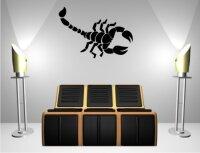 Skorpion Wandtattoo Tapeten Deko M-10