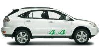 4x4 Offroad Aufkleber/ Auto-Tuning Racingaufkleber
