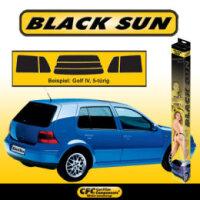 Ford, Escort IV  Cabrio 08/90-,  Black Sun Tönungsfolie