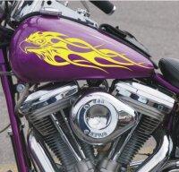 Flammenaufkleber, Car & Bike Flames Seitenaufkleber...