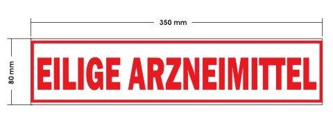 Magnetschild EILIGE ARZNEIMITTEL