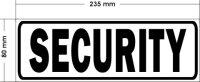 Magnetschild SECURITY