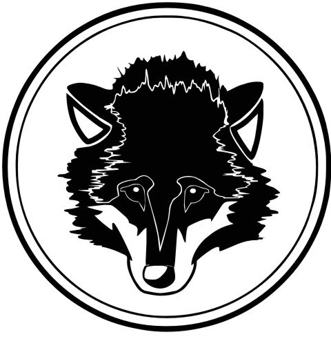 Wolf Wandtattoo Tapeten Deko