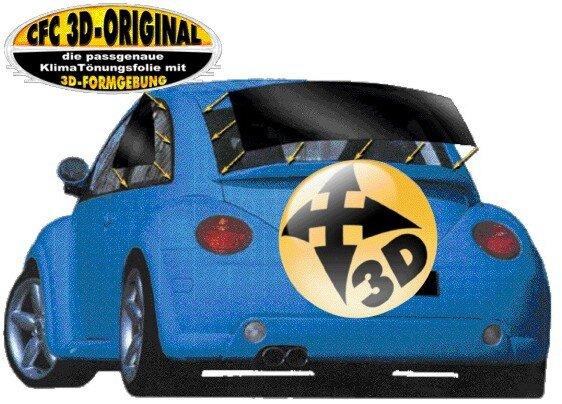 Honda, Civic (EG) 3-tuerig 10/91-09/95, 3D vorgeformt KLIMA-TÖNUNGSFOLIE