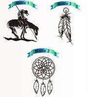 Indianer Aufkleber Sticker