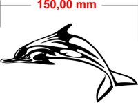 Delfin Aufkleber