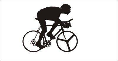 Radsport, Radsportaufkleber, Bike Aufkleber