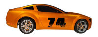 Startnummer Aufkleber, Rennnummer, Auto Rally Styling