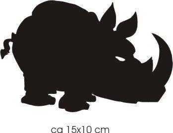 Nashorn Aufkleber, Nashornaufkleber