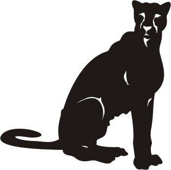 Puma Aufkleber, Pumaaufkleber Sticker