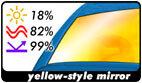 yellow-style mirror