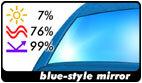 blue-style mirror