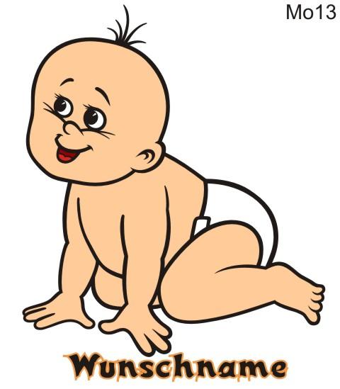 babyaufkleber im digitaldruck