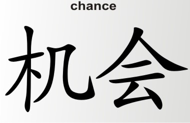china zeichen chance