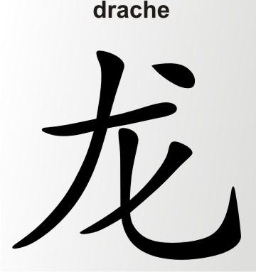china zeichen drache