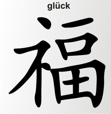 china zeichen glueck