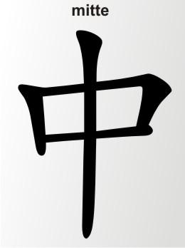 china zeichen mitte
