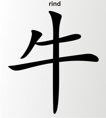 rind china zeichen