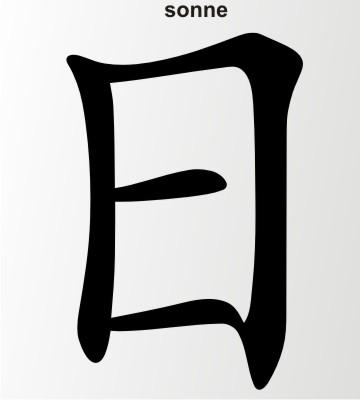sonne china zeichen