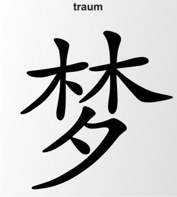 traum china zeichen