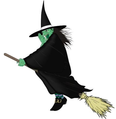 hexen aufkleber