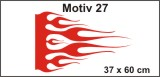 Flammenaufkleber 27