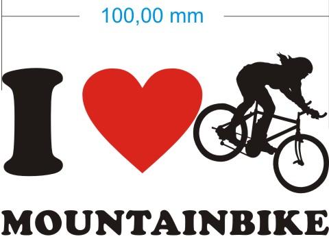 mountainbike aufkleber