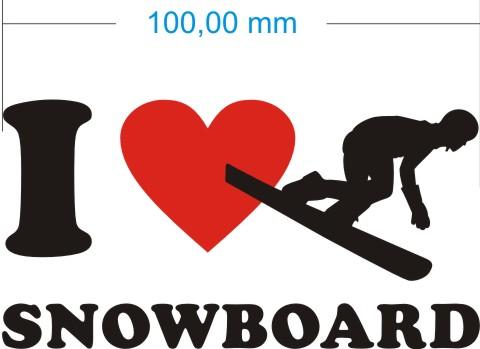 snowboard aufkleber