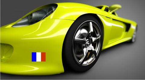 frankreich flagge aufkleber