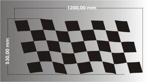 racing aufkleberracing flaggen aufkleber