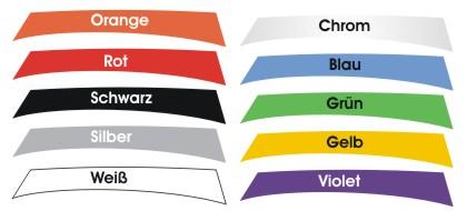 race sticker windscreen