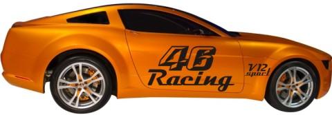 racing aufkleber