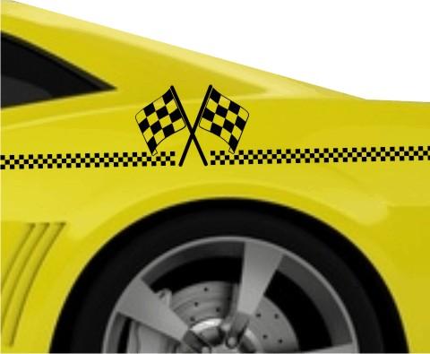 racing streifen racingstreifen flaggen