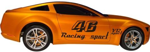 racing sport autoaufkleber