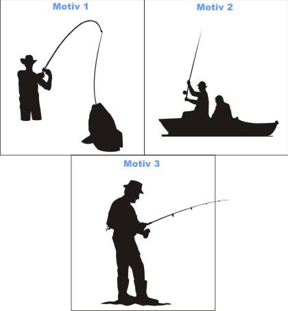 angeln aufkleber