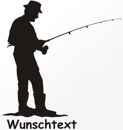 angler aufkleber angeln