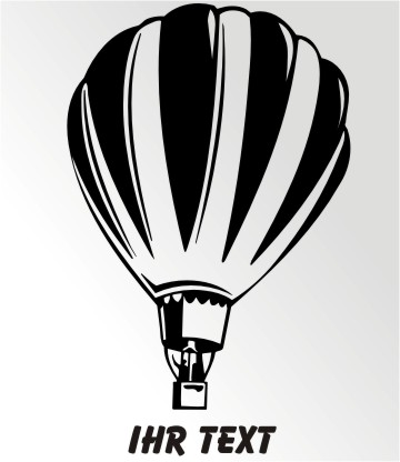 ballon aufkleber
