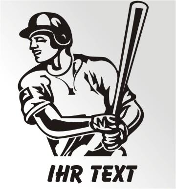 baseball aufkleber