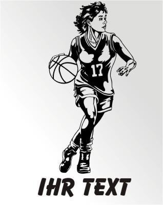 basketball aufkleber