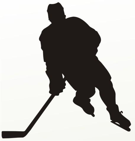 eishockey aufkleber