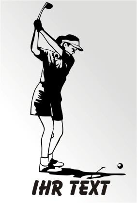 golf sport golfspieler golfspielerin