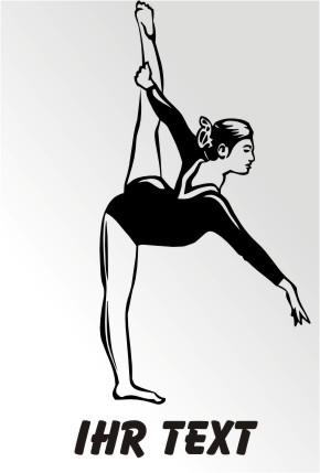 gymnastik aufkleber